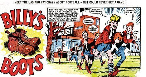 Billy's Boots Fantasy football Legendary comic book lineup features Roy of the