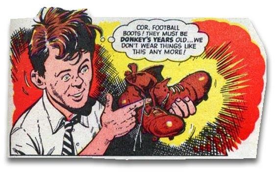 Billy's Boots Blimey The Blog of British Comics The final fate of Billy39s Boots
