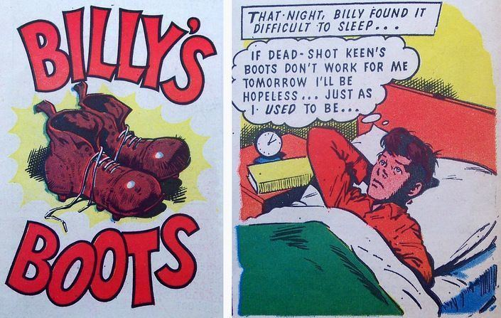 Billy's Boots billys boots British Comics Pinterest Boots