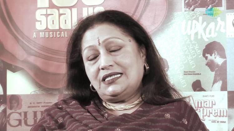 Bindu (actress) I am A Big Fan Of Lata Ji Says Actress Bindu Lata Mangeshkar A