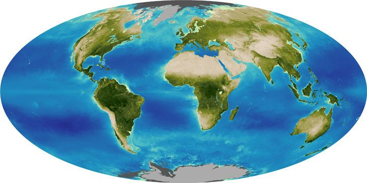 Biosphere World of Change Global Biosphere Feature Articles