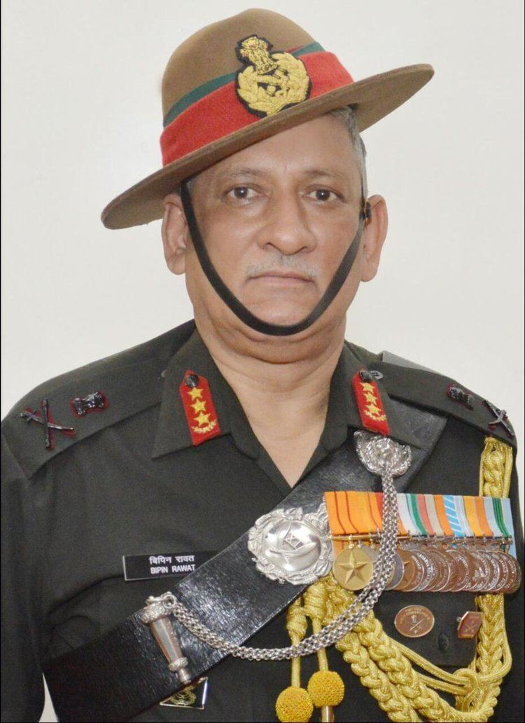 Bipin Rawat Lt Gen Bipin Rawat take overs as Indias New VCOAS Defenceaviationpost