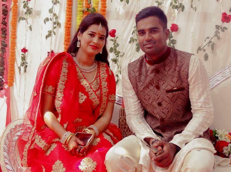 Biplab Samantray Odisha cricketer Biplab Samantray gets engaged to city girl