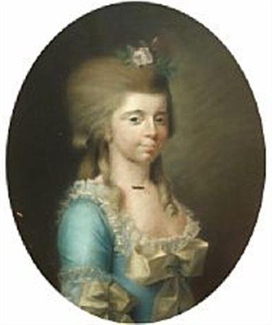 Birgitte Rosenkrantz Portrait of Sophie Margrete Birgitte RosenkrantzLevetzau by Jens
