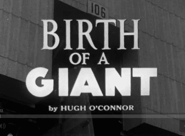 Birth of a Giant movie poster