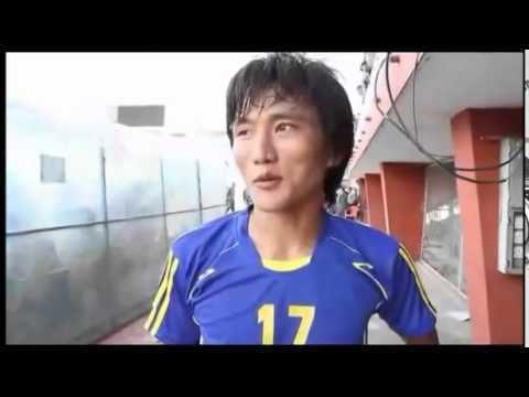 Bishal Rai Two Goal Hero Bishal Rai A Jhapa Beat MMC 2 1 Enter Semis In ANFA