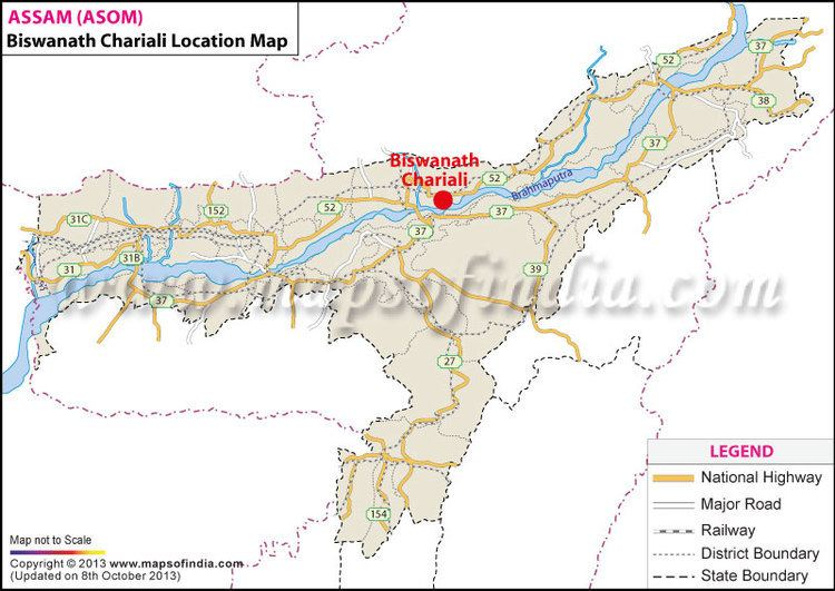 Biswanath Chariali Location Map Where is Biswanath Chariali