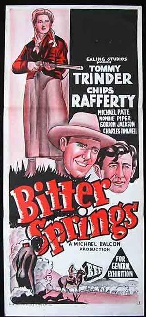 Bitter Springs (film) BITTER SPRINGS Daybill Movie Poster 1950 Chips Rafferty