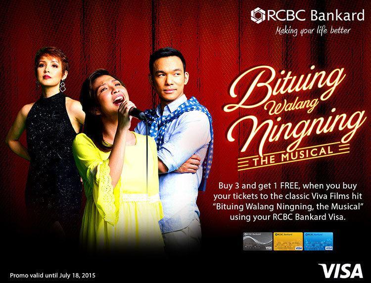 Bituing Walang Ningning Bituing Walang Ningning The Musical RCBC Bankard