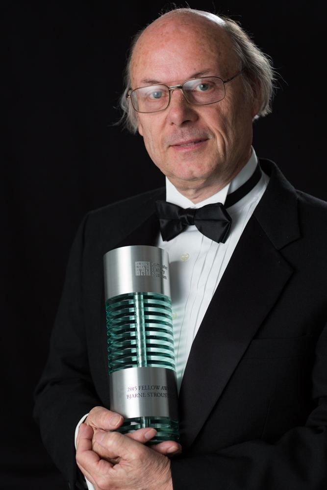 Bjarne Stroustrup 2015 Computer History Museum Fellow Awards Computer History Museum