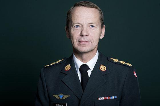 Vizītē Latvijā ierodas Dānijas bruņoto spēku komandieris