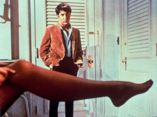 Black and Tan (film) movie scenes Mrs Robinson s seductive underwear drawer steals is a consistent scene stealer Gucci esque leopard print bra and skirt sets and lace black brassieres even