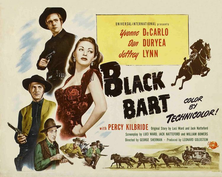 Black Bart (film) Dan Duryea Central Black Bart 1948