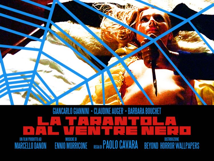 Black Belly of the Tarantula BEYOND HORROR DESIGN BLACK BELLY OF THE TARANTULA Paolo Cavara 1971
