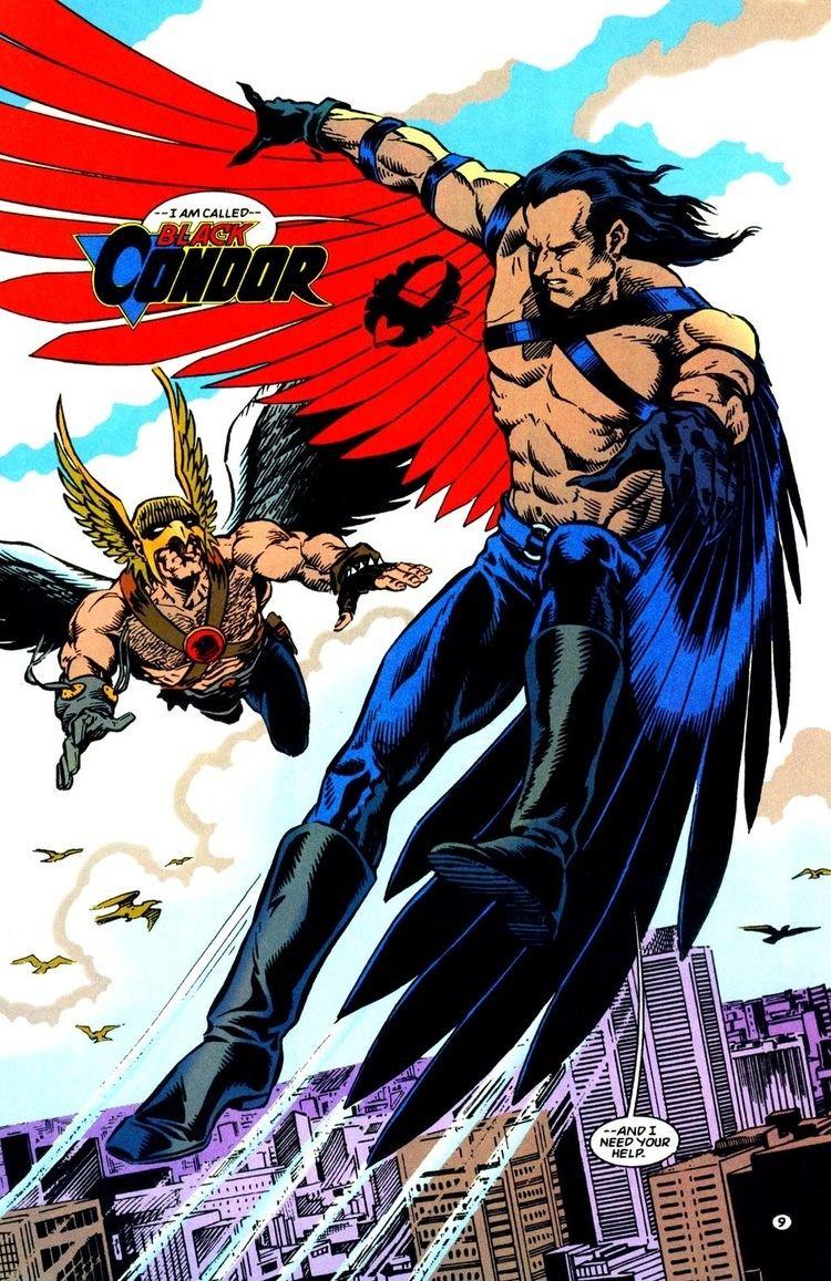 Black Condor Ryan Kendall Character Comic Vine