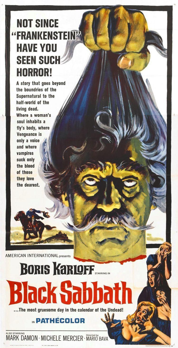Black Sabbath (film) Black Sabbath A trilogy of three horror stories The Drop of