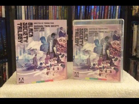 Black Society trilogy Black Society Trilogy BLU RAY UNBOXING and Review Arrow Video