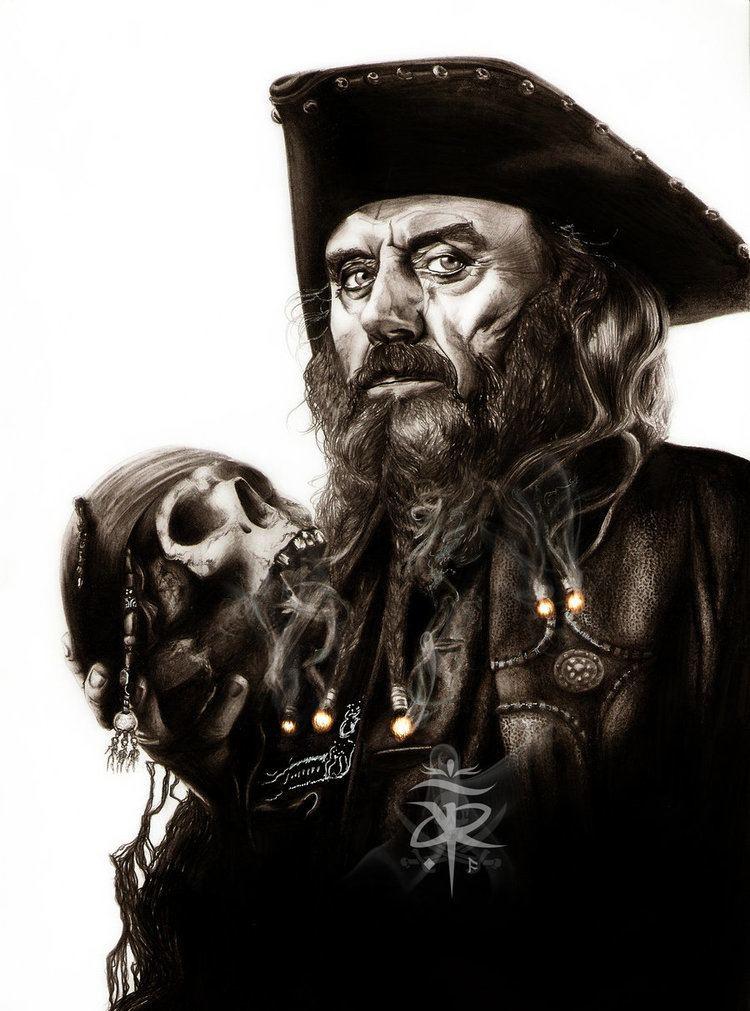 Blackbeard Edward Teach by adorindil on deviantART aka Blackbeard POTC