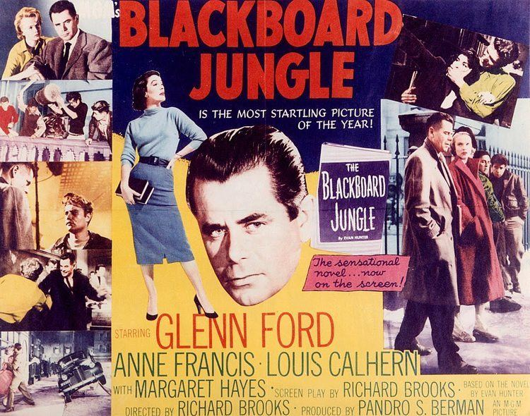 Blackboard Jungle Blackboard Jungle turns 60 Revisiting the movie that marked the