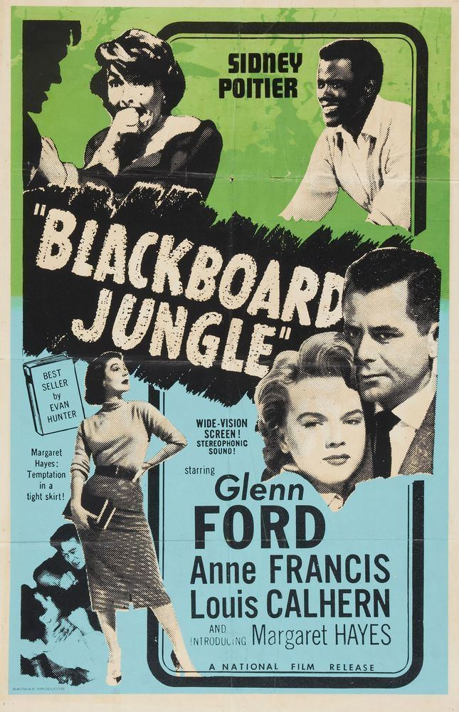 Blackboard Jungle Blackboard Jungle 1955 Elvis Echoes Of The Past