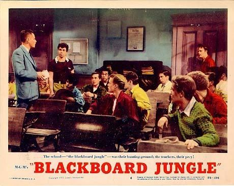 Blackboard Jungle Oh Daddio How Blackboard Jungle Changed Rock Roll Boogie Chillen