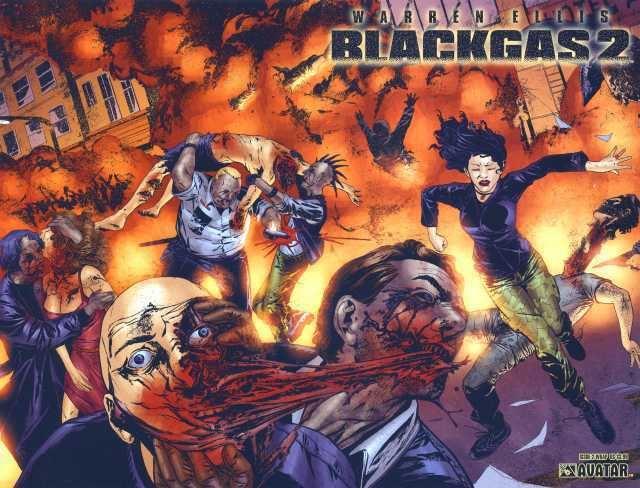 Blackgas Warren Ellis Blackgas 2 2 Issue