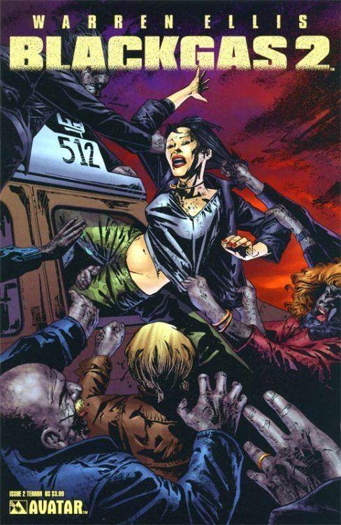 Blackgas Warren Ellis Blackgas 2 1 Avatar Press ComicBookRealmcom