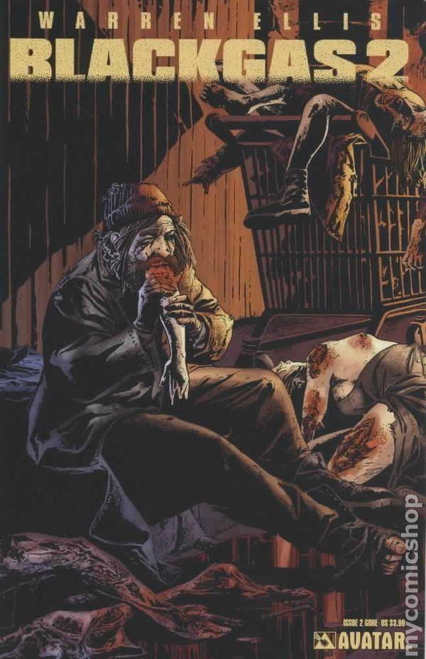 Blackgas Black Gas comic books issue 2