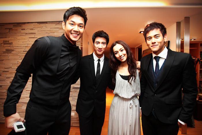 Blackie Chen Taiwan Celebrity Wedding of Blackie Chen amp Christine Fan