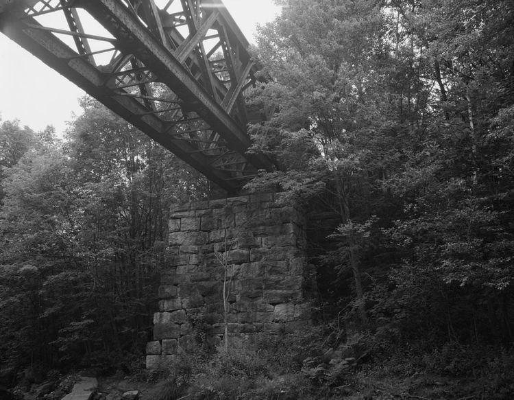 Blackledge River Railroad Bridge