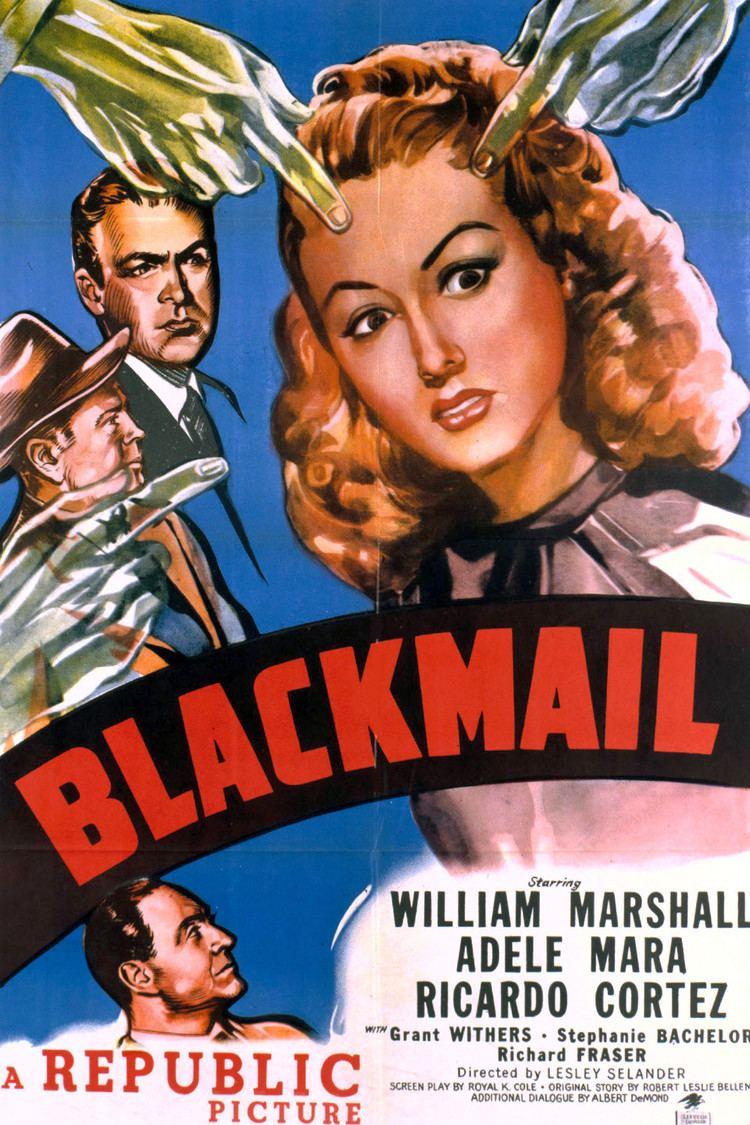 Blackmail (1947 film) wwwgstaticcomtvthumbmovieposters52204p52204