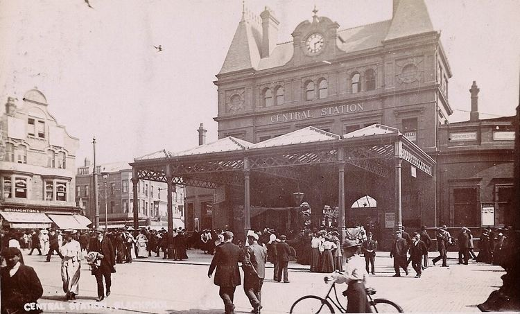 Blackpool Central railway station FileBlackpool Central stationjpg Wikimedia Commons