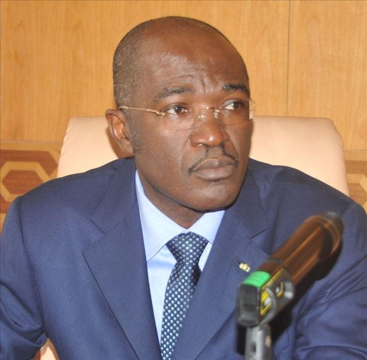 Blaise Louembe Ida Reteno Assounouet la ministre de la Justice Garde des