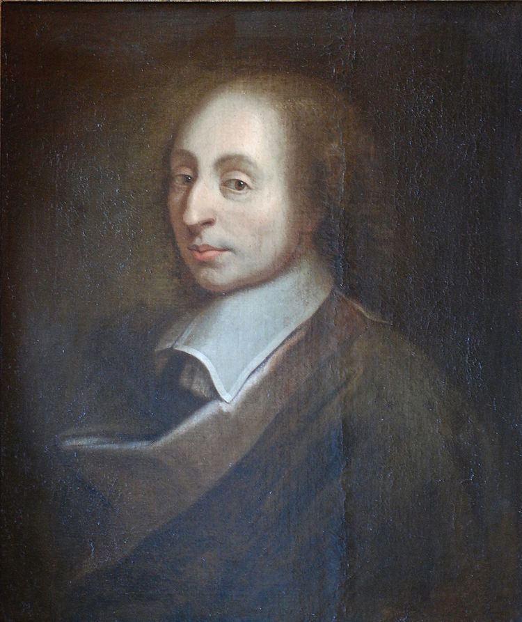 Blaise Pascal Blaise Pascal Wikipedia