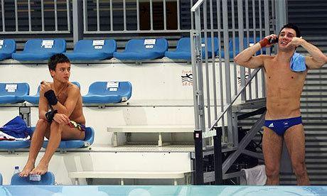 Blake Aldridge Olympics Tom Daley and Blake Aldridge out of sync in