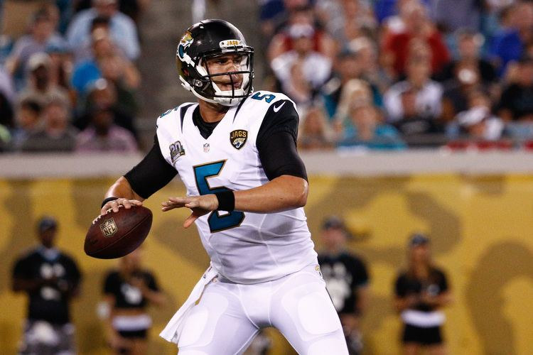 Blake Bortles The Jacksonville Jaguars are in good hands with Blake