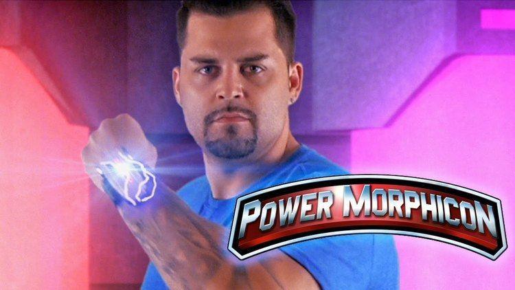 Blake Foster Blue Turbo Ranger Blake Foster at Power Morphicon 4 YouTube