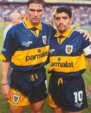 Blas Giunta Blas Armando Giunta y Diego 1995 BOQUENSE Pinterest FIFA