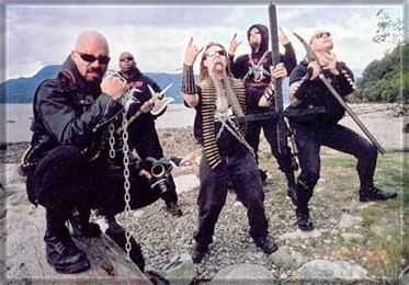 Blasphemy (band) Interview with Blasphemy
