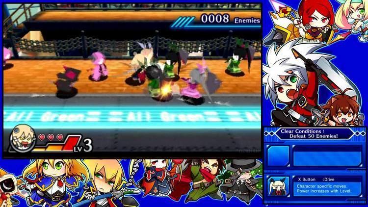 BlazBlue: Clone Phantasma Blazblue Clone Phantasma 3DS Gameplay Noel story mode YouTube