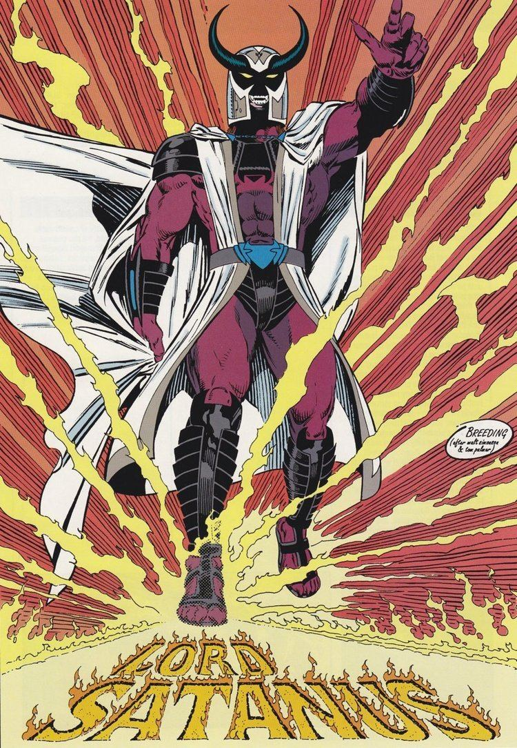 Blaze and Satanus Lord Satanus Character Comic Vine