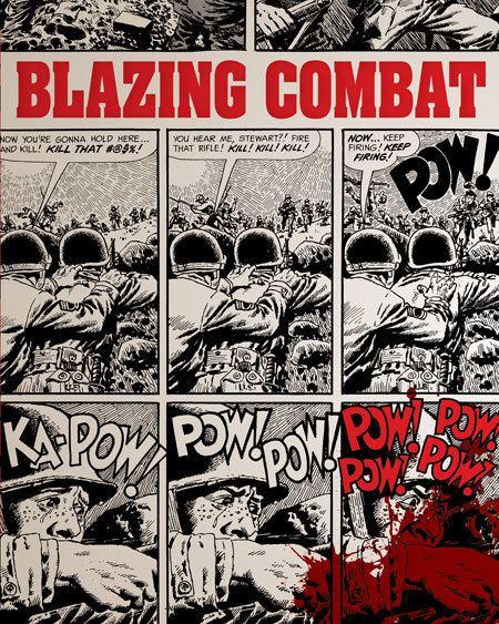 Blazing Combat Now in stock Blazing Combat Softcover Ed Fantagraphics