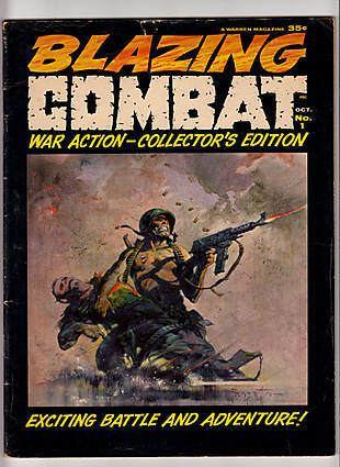 Blazing Combat ComicConnect Buy Sell amp Appraise Blazing Combat 1 Comic Books