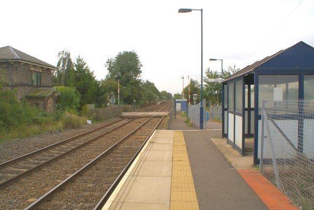 Bleasby railway station