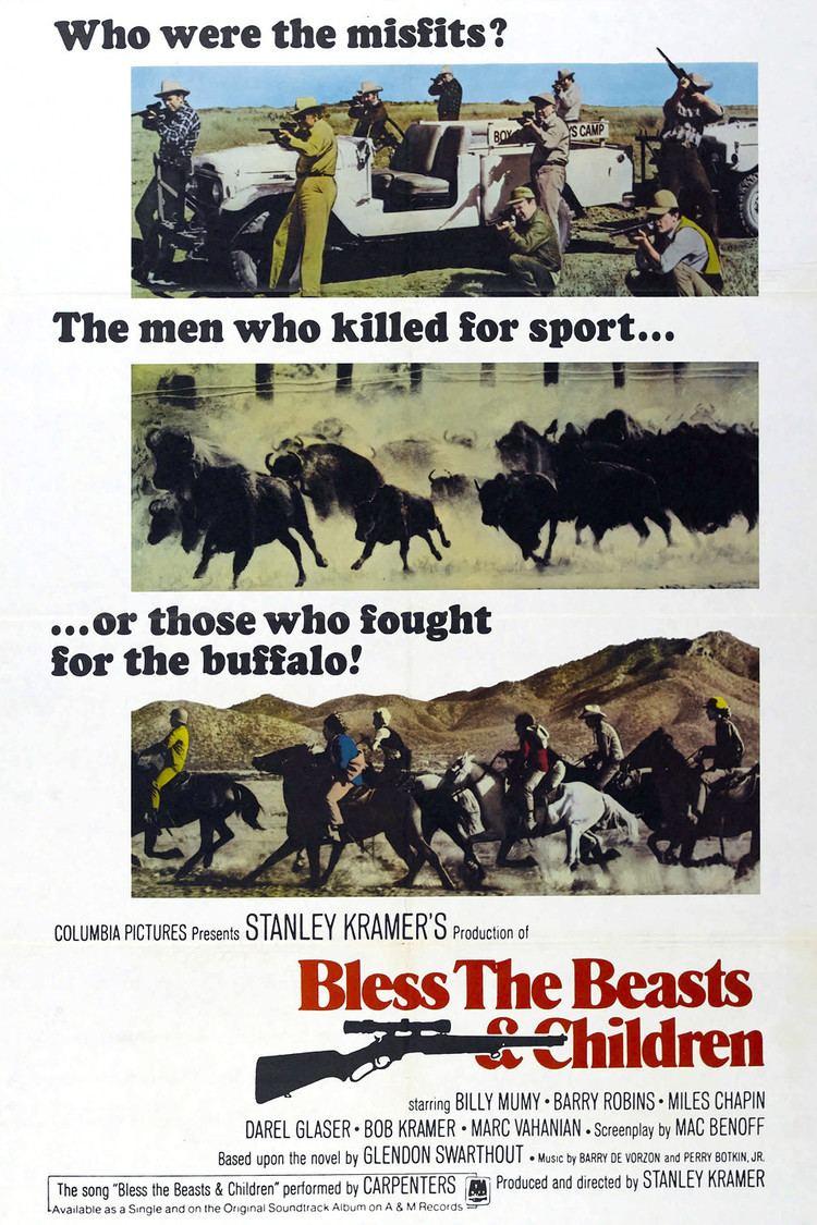 Bless the Beasts and Children (film) wwwgstaticcomtvthumbmovieposters2525p2525p