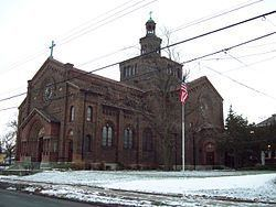 Blessed Trinity Roman Catholic Church Buildings httpsuploadwikimediaorgwikipediacommonsthu