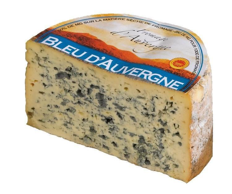 Bleu d'Auvergne Paul Dischamp French Cheese Club