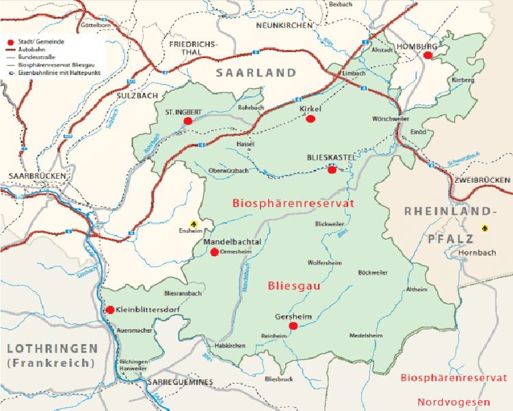 Bliesgau CARROTMOB SAAR Blog Archive Biosphrenreservat Bliesgau ein