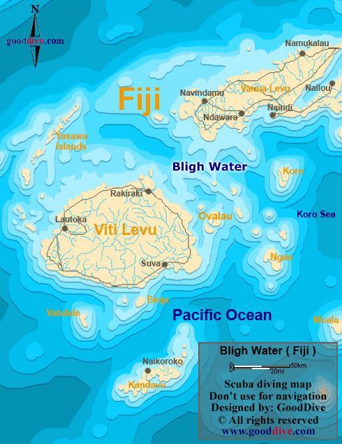 Bligh Water Bligh Water Map Gooddivecom