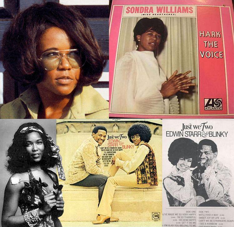 Blinky (singer) Sondra Blinky Williams released five Motown singles starting in
